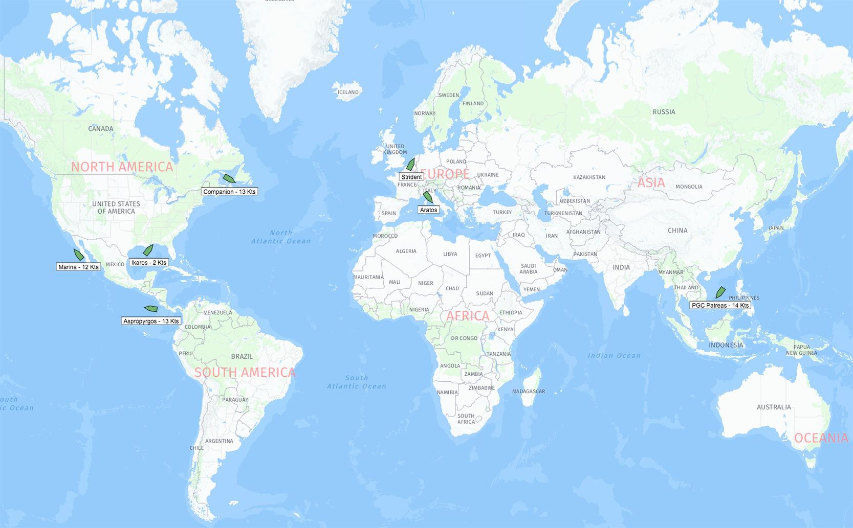 maps fleet view